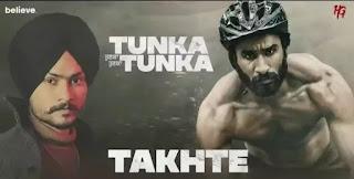 Takhte Lyrics - Himmat Sandhu   Tunka Tunka