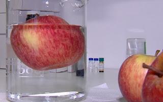 Agrotóxico na maçã