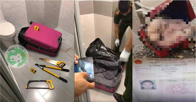 Phát hiện thi thể không nguyên vẹn giấu trong vali ở Khu dân cư Him Lam