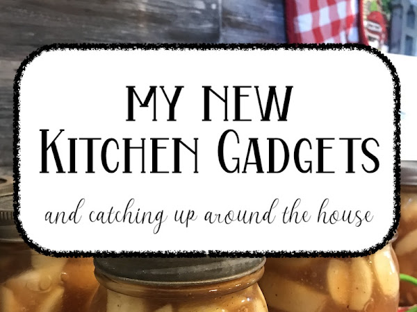New Kitchen Gadgets I am using and Catching up on all the things DITL