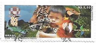 Selo Sistema de Vigilância da Amazônia (SIVAM)