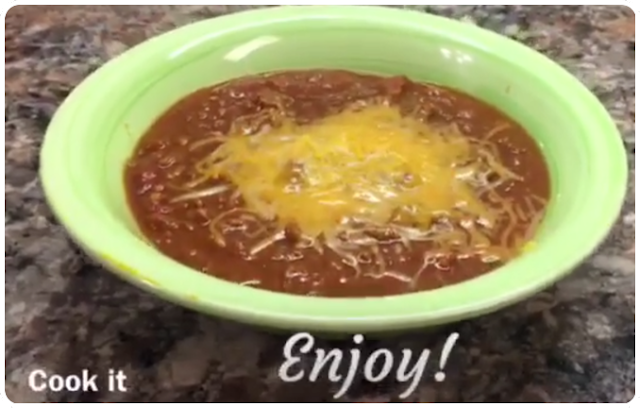 CrockPot / Slow Cooker Chili Recipe