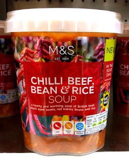 M&S Chilli Beef, Bean & Rice Soup