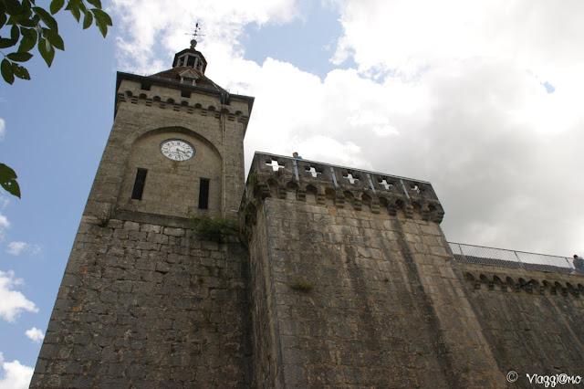 Facciata del Castello di Rocamadour