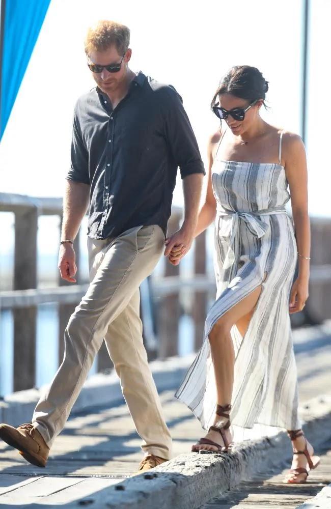 الأمير هاري وميغان دوقة ساسيكس في جزيرة فريزر استراليا