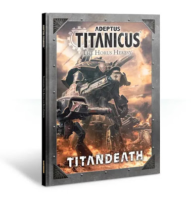 Adeptus Titanicus: The Horus Heresy, Titandeath Campaign Book