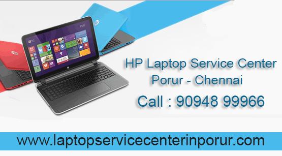 HP Laptop Service Center in Porur - Chennai