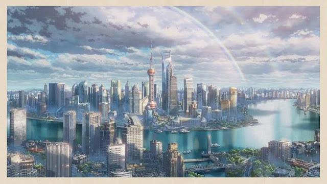 pemandangan kota tokyo
