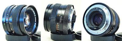 Konica Hexanon AR 50mm 1:1.7 #740