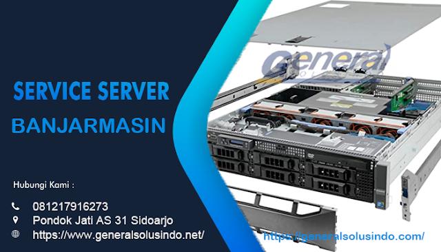 Service Server Banjarmasin Resmi dan Profesional