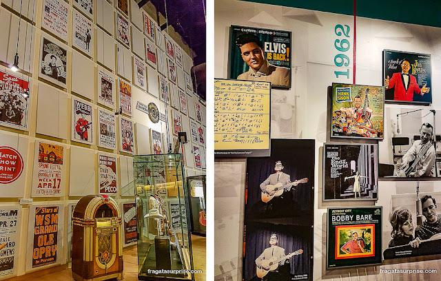 Nashville: Hall da Fama da Country Music e Studio B da RCA