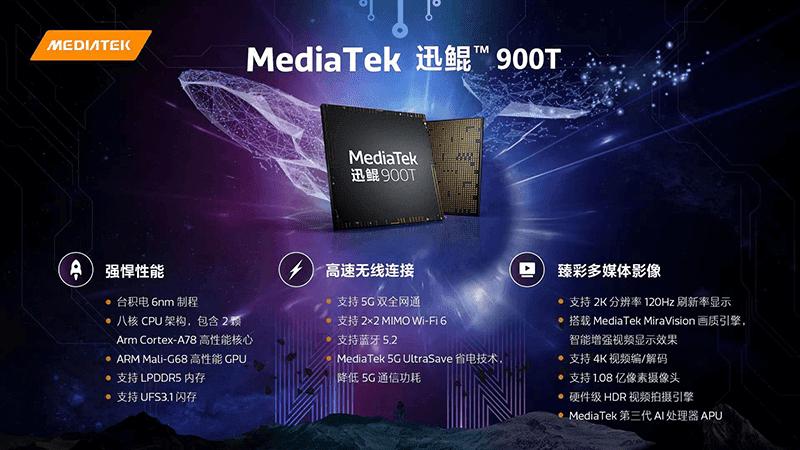 MediaTek launches 6nm Kompanio 900T SoC for tablets!