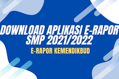 Download erapor SMP Semester 1 2021/2022