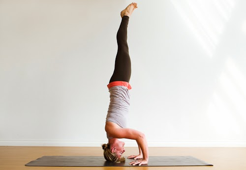 how to get into forearm stand