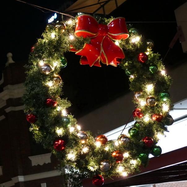 Weihnachtsdekoration, Weihnacht, Dekoration, Kranz, Sydney, Australien
