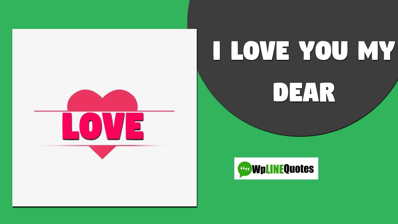 I love you quotes for him to express him your love feelings.