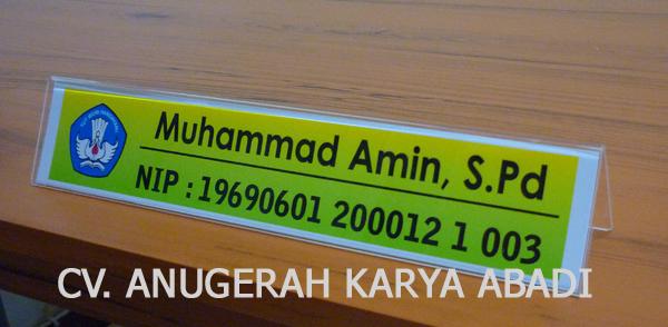 Nama Meja  Papan Data  CV Anugerah Karya Abadi  Semarang