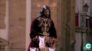 Nuestro Padre Jesús de las Penas por la Plaza de la Catedral. Semana Santa Cádiz 2019