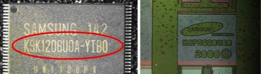 identify counterfeit electronic components