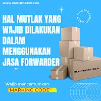 kode marking jasa forwarder