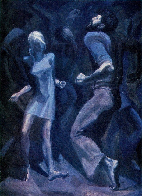 «Танец», Тальберг Борис Александрович, 1978 г.