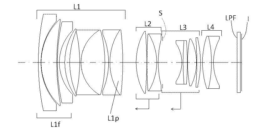 Оптическая схема Sigma 50mm f/1.2