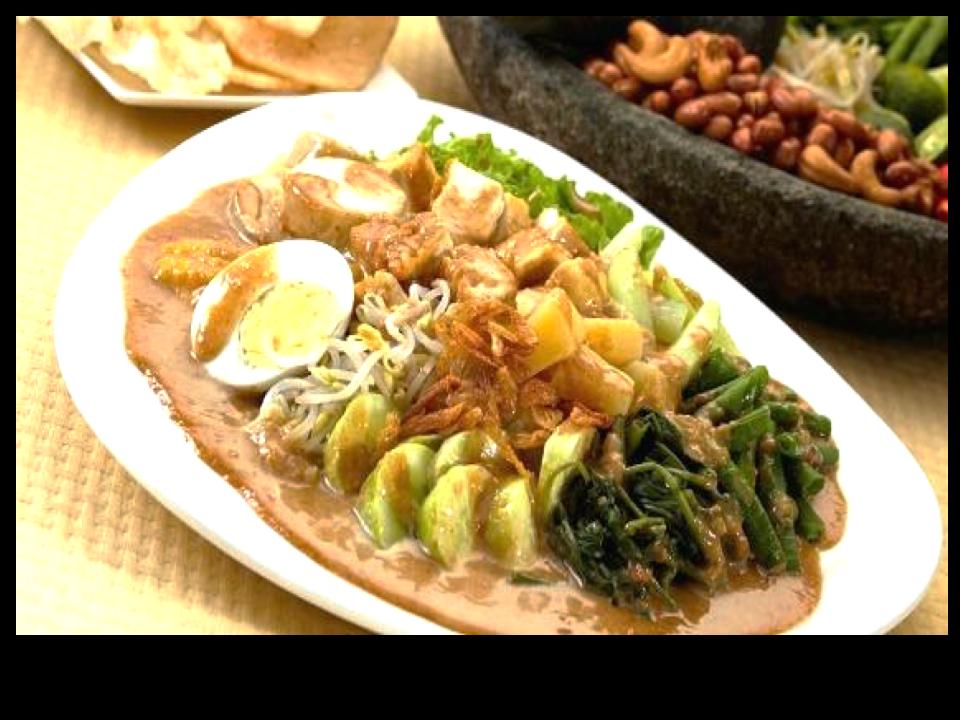 Gado Gado Indonesian Food From Java