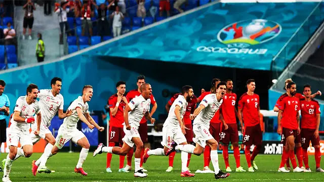 المنتخب الإسباني أول المتأهلين لنصف نهائى يورو 2020 على حساب سويسرا