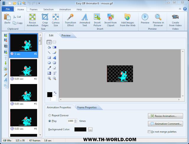 برنامج-Easy-GIF-Animator