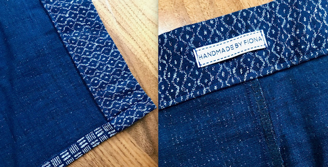 Diary of a Chain Stitcher: Japanese Cotton Table Runner