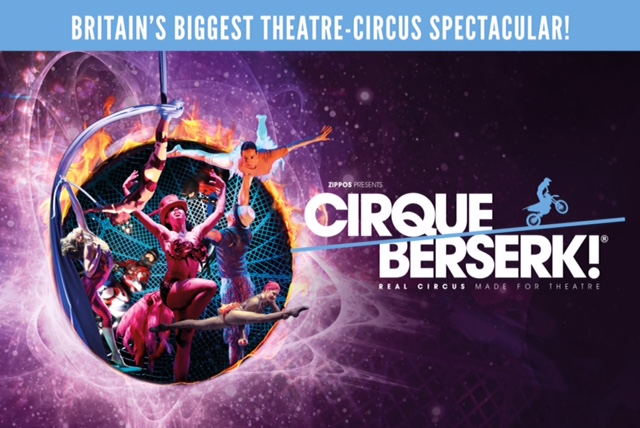Cirque Berserk! at Nuffield Theatre, Southampton