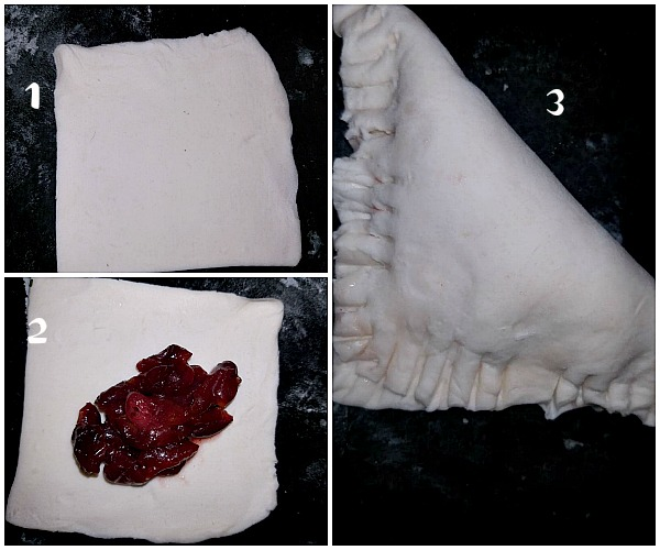 how to make cherry turnovers
