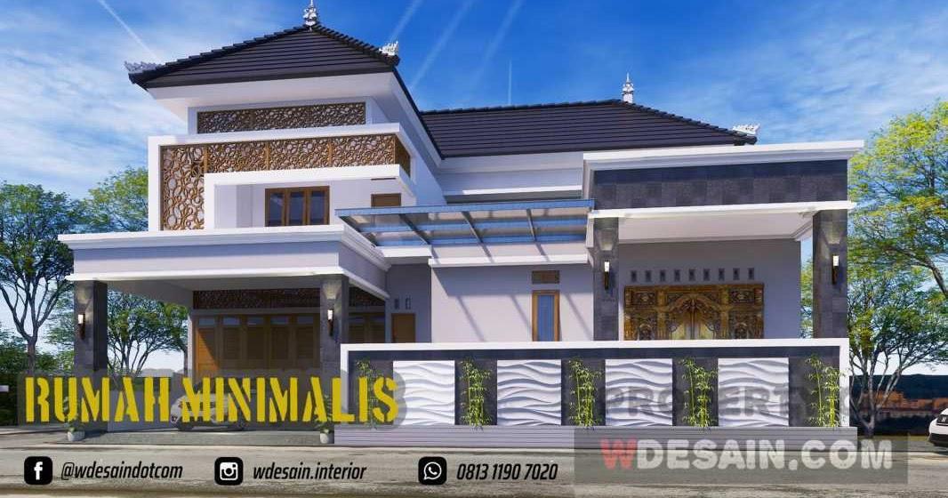 Model Rumah Minimalis 2 Lantai Tampak Depan Desain Rumah Minimalis
