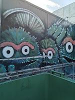 Braddon Street Art | Oscar the Grouch
