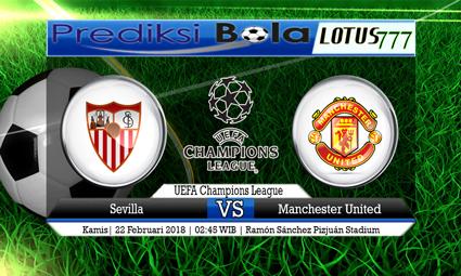 PREDIKSI  SKOR Sevilla vs Manchester United 22 Februari 2018