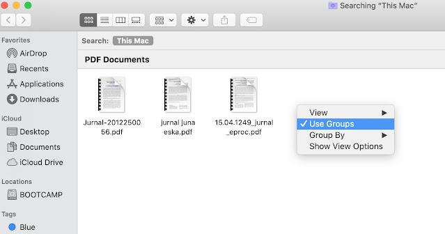 Gunakan Pencarian Untuk Mecari File