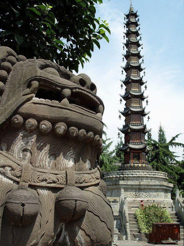 วัดเหวินซู (Wenshu Temple: 文殊院)