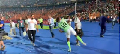 Alex Iwobi Dances Gbe Body After Super Eagles Win Against South Africa