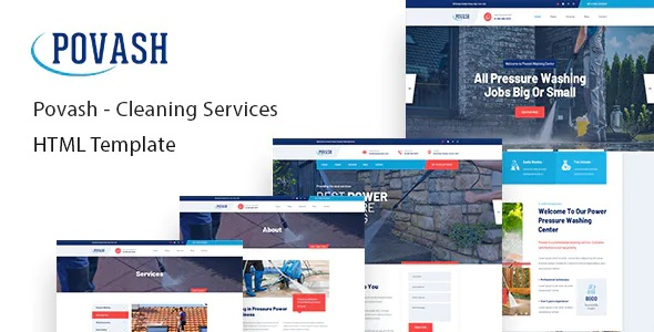 Best Power Wash Cleaning Services Template