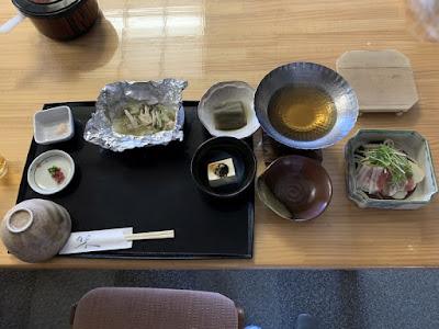 野中温泉の夕食