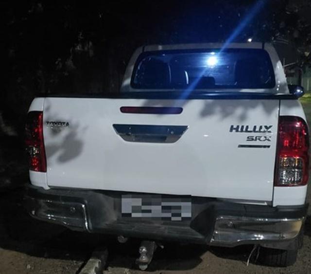 PRF recupera caminhonete roubada 4 dias após o crime