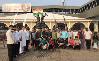 मेजर कौस्तुभ राणे स्मारक पर शहीदों को किया गया नमन   #NayaSaberaNetwork
