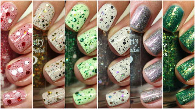 Paint It Pretty Polish Vintage Christmas Toppers Collection