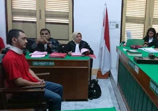 Bakar Pacar Hidup-Hidup, Herald Gomoz Dituntut 15 Tahun Penjara