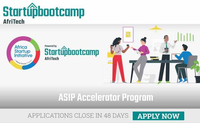 ASIP Accelerator Program 2021 for African Tech Startups