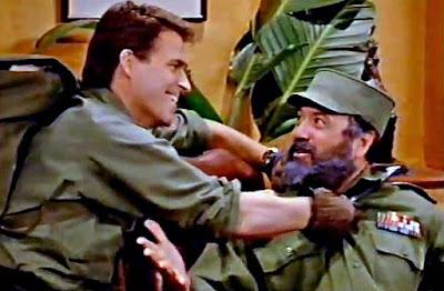 Jefferson Darcy und Fidel Castro lustig