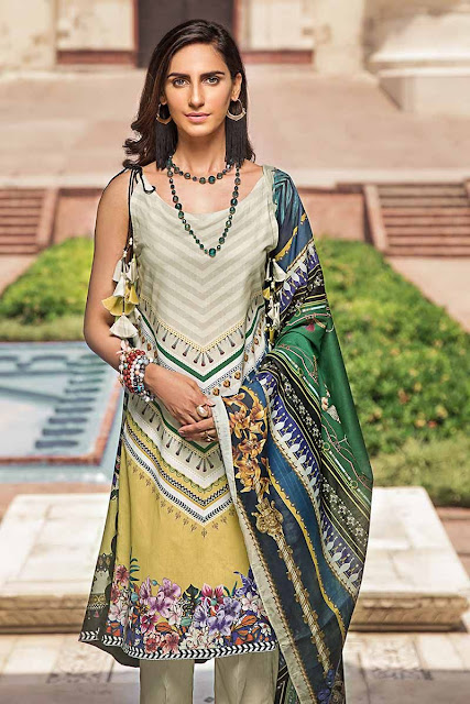 Stunning New Gul Ahmed's Cambric Collection '19 – A Visual Tour