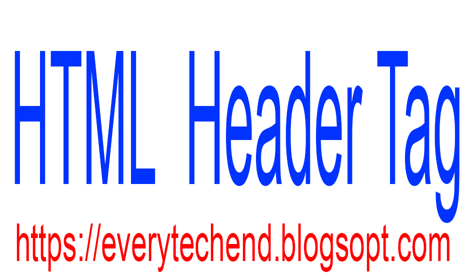 HTML Head Tag || HTML Header Tag || HTML Head Tag H1-H6.