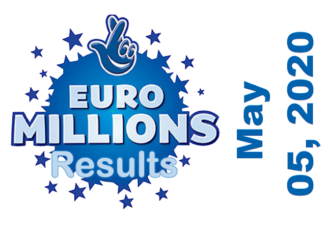 EuroMillions Results for Tuesday, May 05, 2020