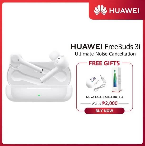 Huawei FreeBuds 3i in Shopee